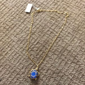 NWT Kate Spade Turtle Locket Necklace